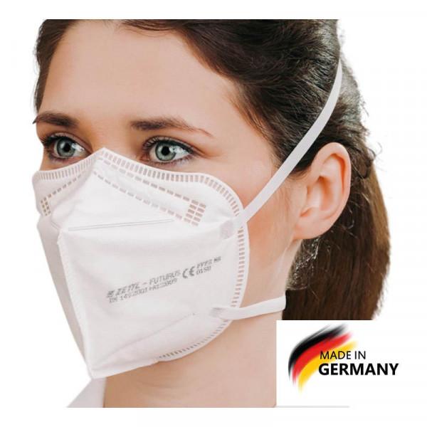 Zettl Futurus ffp2 Maske mit Kopfbändern