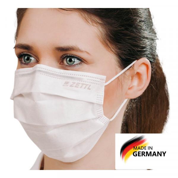 zettl medizinische mund-nasen-schutz maske hergestellt in deutschland